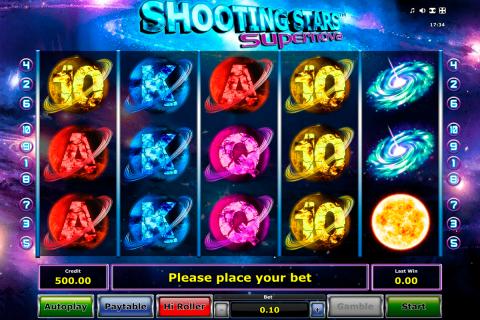 shooting stars supernova novomatic spielautomaten