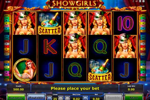 showgirls novomatic spielautomaten