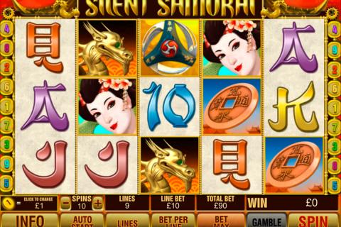 silent samurai playtech spielautomaten