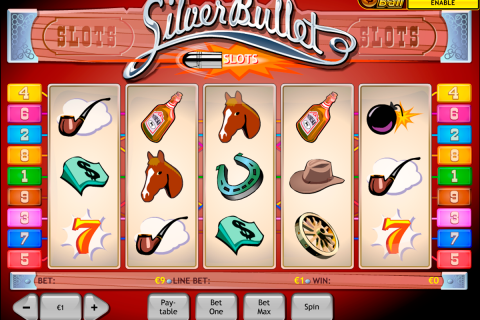 silver bullet playtech spielautomaten