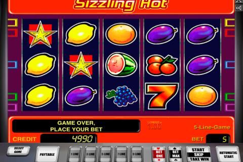 sizzling hot novomatic spielautomaten
