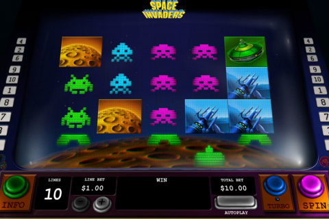 space invaders playtech spielautomaten