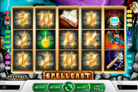 spellcast netent spielautomaten