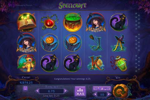 spellcraft playson spielautomaten