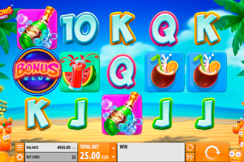 spinions beach party quickspin spielautomaten