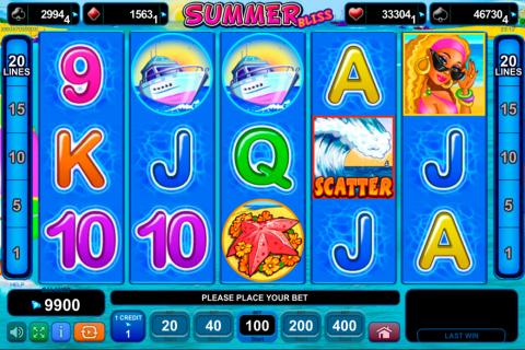 summer bliss egt spielautomaten