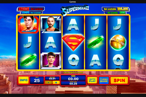 superman ii playtech spielautomaten