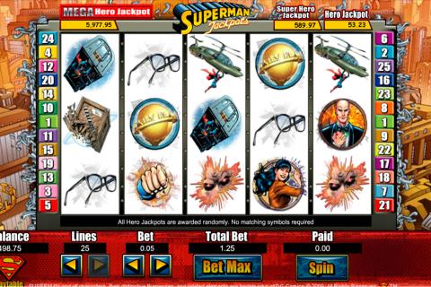 superman jackpots amaya spielautomaten
