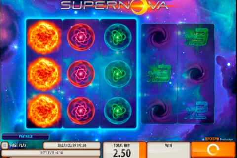 supernova quickspin spielautomaten