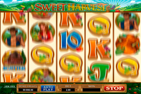 sweet harvest microgaming spielautomaten