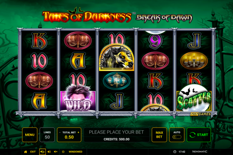tales of darkness break of dawn novomatic spielautomaten
