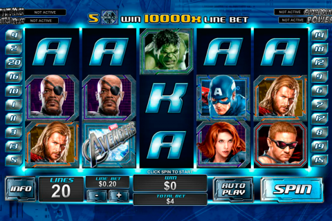 the avengers playtech spielautomaten