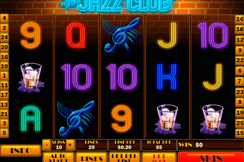the jazz club playtech spielautomaten