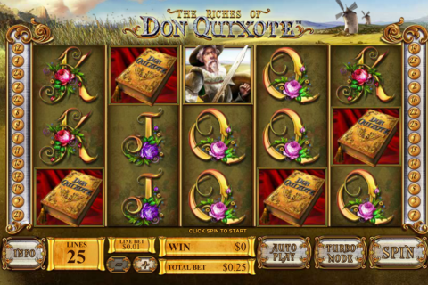 the riches of don quiote playtech spielautomaten