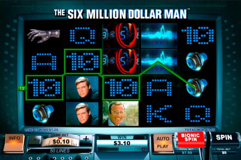 the si million dollar man playtech spielautomaten
