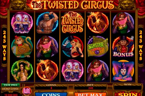 the twisted circus microgaming spielautomaten