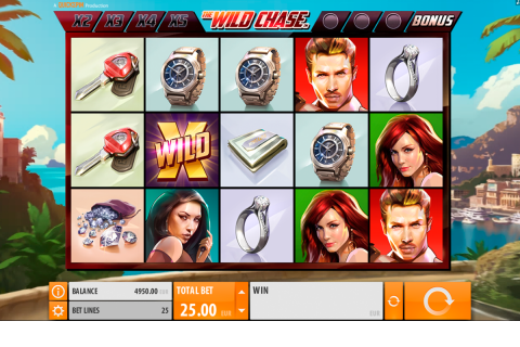 the wild chase quickspin spielautomaten