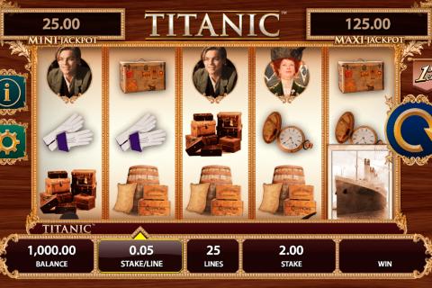 titanic bally spielautomaten