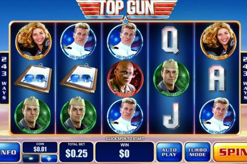 top gun playtech spielautomaten