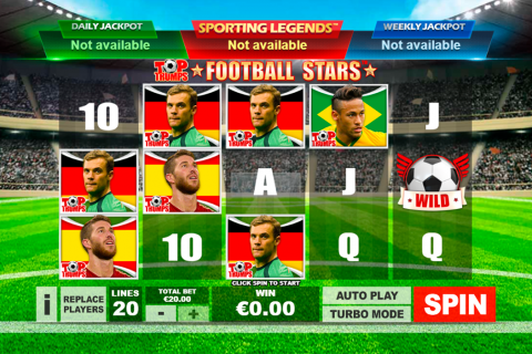 top trumps football stars playtech spielautomaten