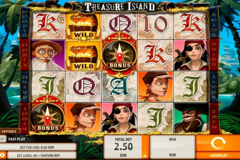 treasure island quickspin spielautomaten