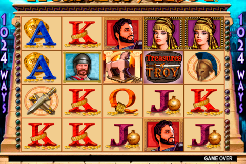 treasures of troy igt spielautomaten
