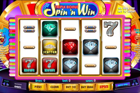 triple bonus spin n win amaya spielautomaten