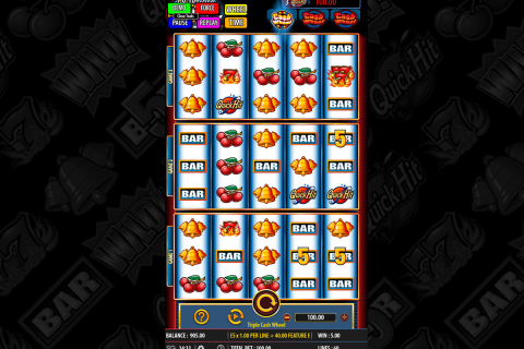 triple cash wheel bally spielautomaten