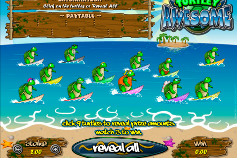 turtley awesome microgaming online