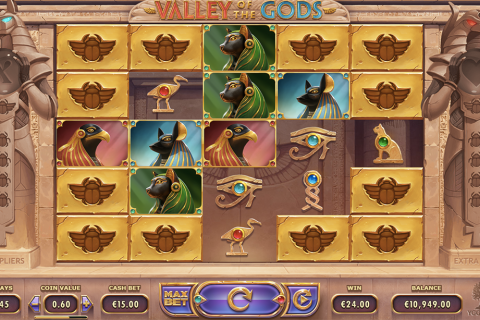 valley of the gods yggdrasil spielautomaten