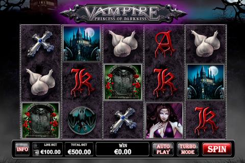 vampire princess of darkness playtech spielautomaten