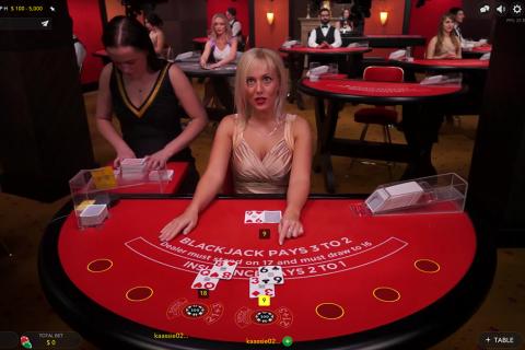 vip live blackjack evolution gaming