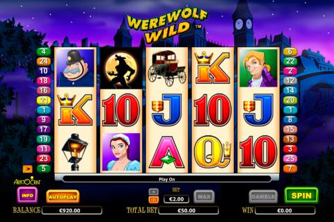 werewolf wild aristocrat spielautomaten