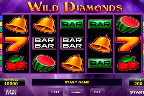 wild diamonds amatic spielautomaten