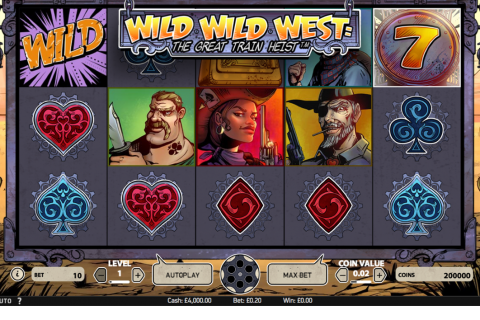 wild wild west the great train heist netent spielautomaten