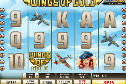 wings of gold playtech spielautomaten