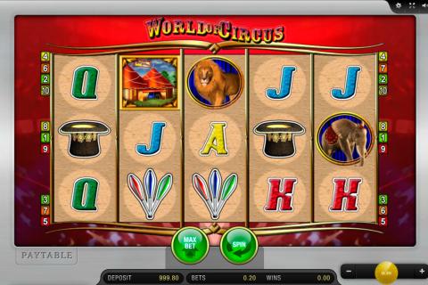 world of circus merkur spielautomaten