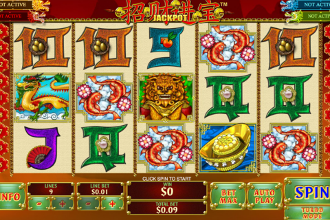 zhao cai jin bao jackpot playtech spielautomaten